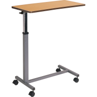 Bed table height adjustable